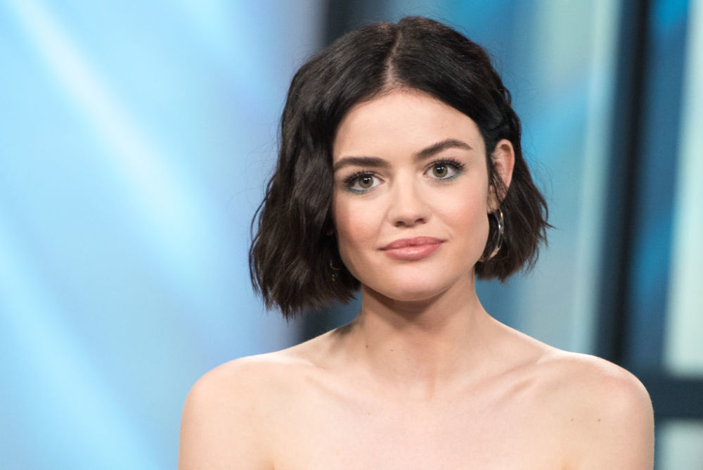 "Lucy Hale's perfect spring sweater is giving us modern ""Princess Bride"" vibes"