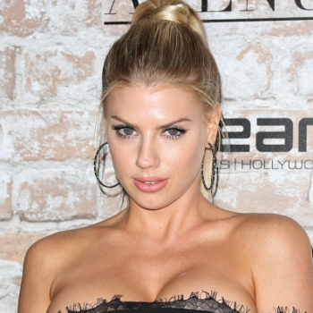 Charlotte McKinney just gave the coat dress trend a twist with a suit jacket dress, and we dig the variation