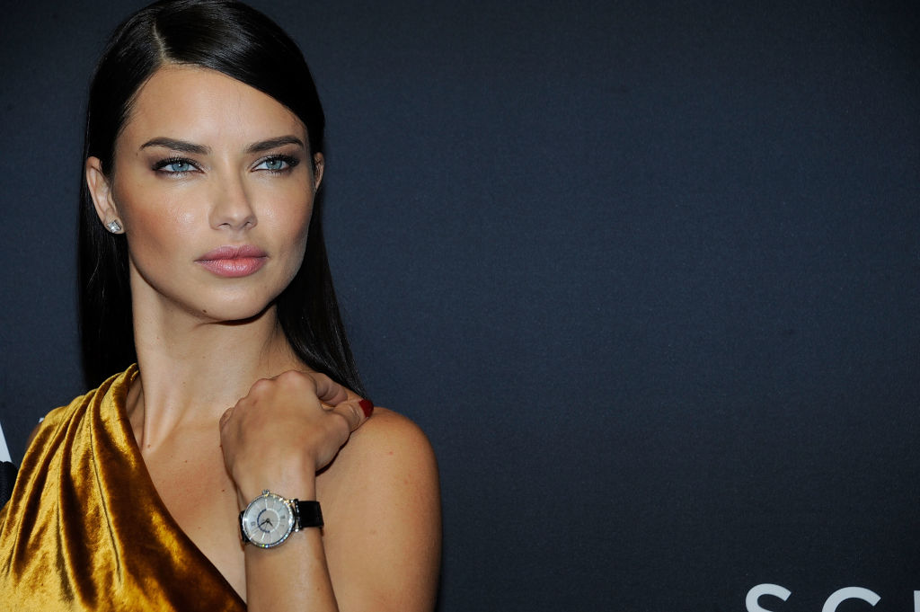 Channel your inner Victoria's Secret angel in one of these gold velvet looks, just like Adriana Lima