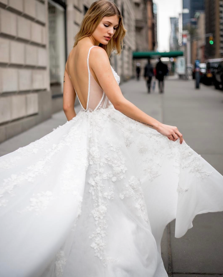 These are the best spring wedding dresses from Bridal Fashion Week in New York