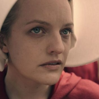 """The cast of """"The Handmaid's Tale"""" emphasized that their show was not feminist, and we have questions"""