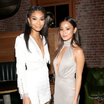 Chanel Iman and Jamie Chung's Coachella looks are sending us straight back to the '90s