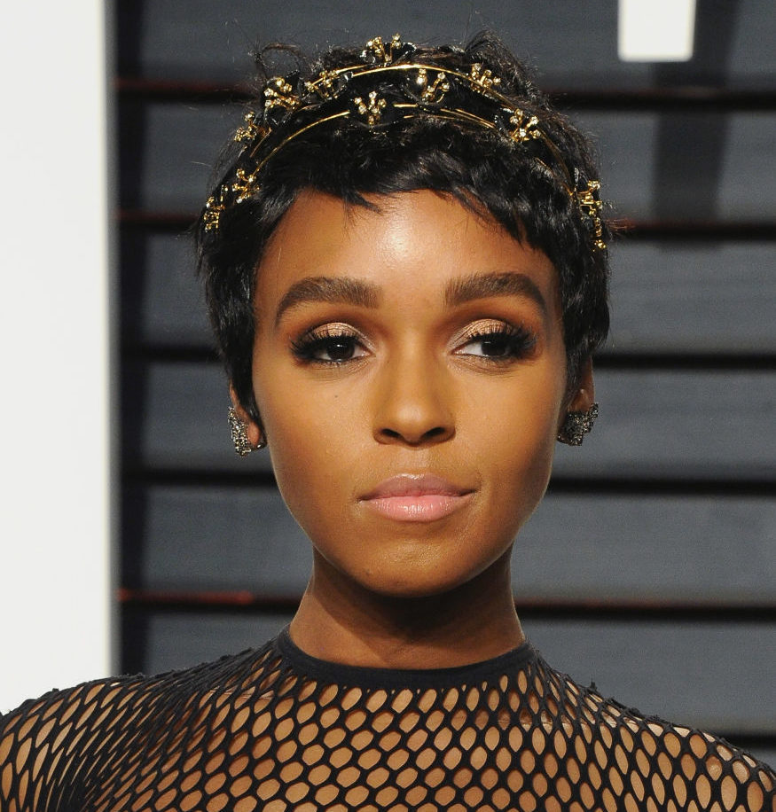 Janelle Monae wore tiny white doves in her hair as a stylish tribute to Prince