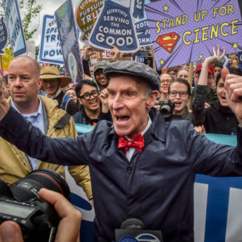 These celebs stood up for the planet at the March for Science