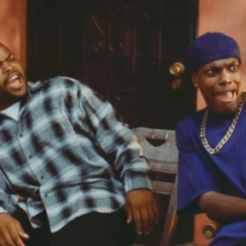 "Hi, Felicia? Ice Cube might be making a fourth ""Friday"" sequel"
