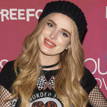 """Bella Thorne admits her family was close to being homeless before she was cast on """"Shake It Up"""""""