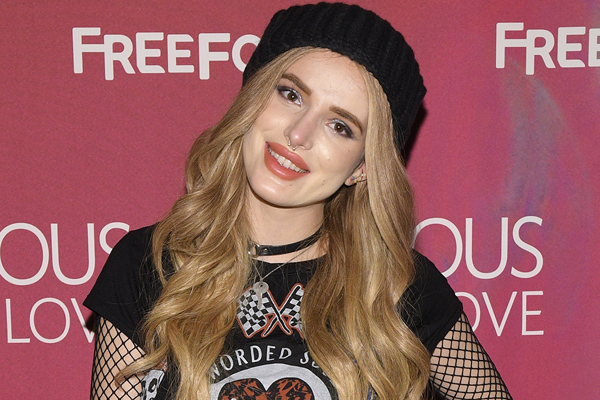 "Bella Thorne admits her family was close to being homeless before she was cast on ""Shake It Up"""