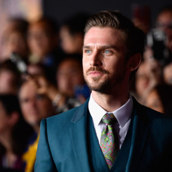 "Dan Stevens took one thing from the ""Beauty and the Beast"" set, and we're not sure if it's cute or crazy"