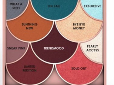 TrendMood's Ciaté London eyeshadow palette is full of beauty puns that are 100 percent relatable
