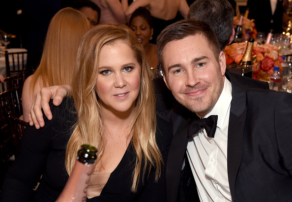 Amy Schumer says there were ~zero~ games when she started dating boyfriend Ben Hanisch
