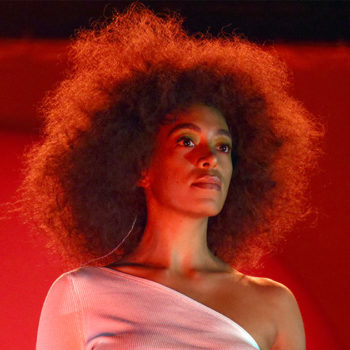 Solange Knowles says that making art helps her maintain her strength as a woman
