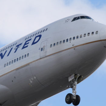 A United Airlines flight made an emergency landing after the plane's engine gave out over the ocean