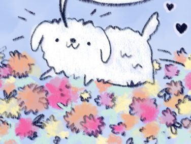 Spring Doggo is here to lift your spirits (and make you forget all about your allergies)