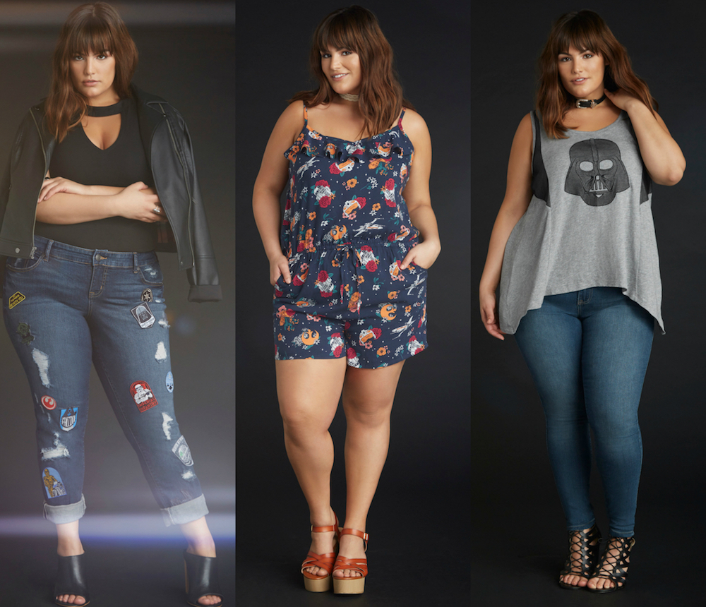"Torrid launched a ""Star Wars""-themed collection, and our nerdy hearts are thrilled"