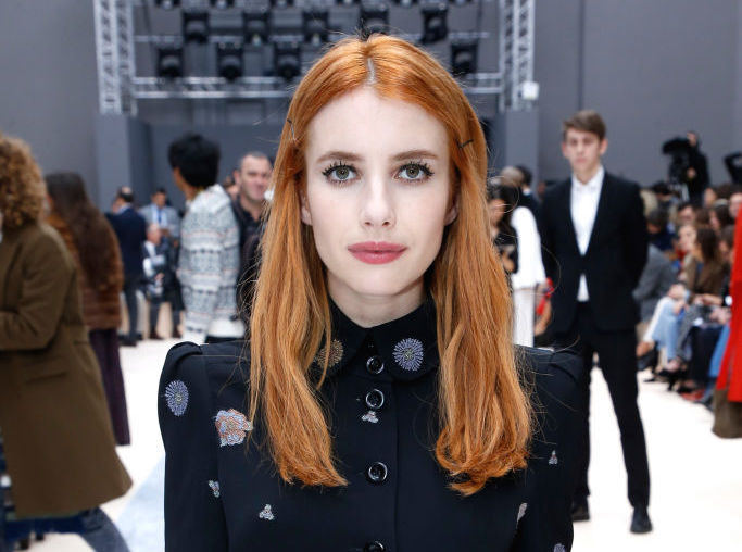 Emma Roberts perfectly pulled off a color we're afraid to try