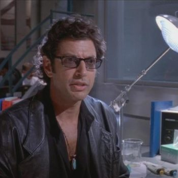 "Actually, Jeff Goldblum will inherit the Earth, because he just joined the ""Jurassic World 2"""