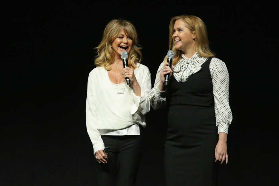 "Amy Schumer and Goldie Hawn have serious thoughts on ""People's"" Most Beautiful pick"