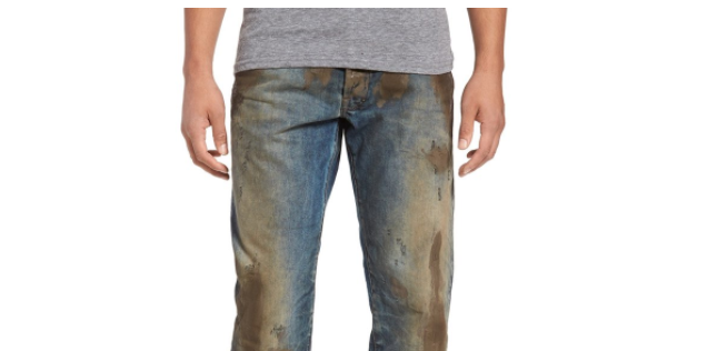 Nordstrom is selling jeans with fake mud on them for $425