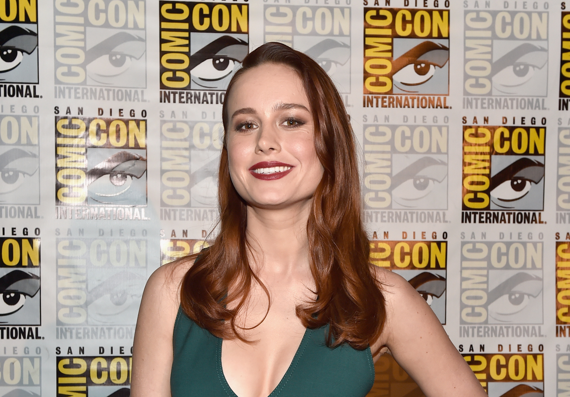 Brie Larson explains why she's playing Captain Marvel, and yes, we just shed a tear of happiness