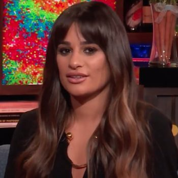 "Lea Michele is not happy about Heather Morris's ""DWTS"" elimination"