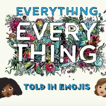"The ""Everything, Everything"" *emoji* trailer is like someone texting you the synopsis for the movie"