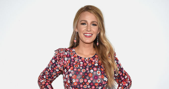 Blake Lively looks like a bird of paradise in this floral fringe number