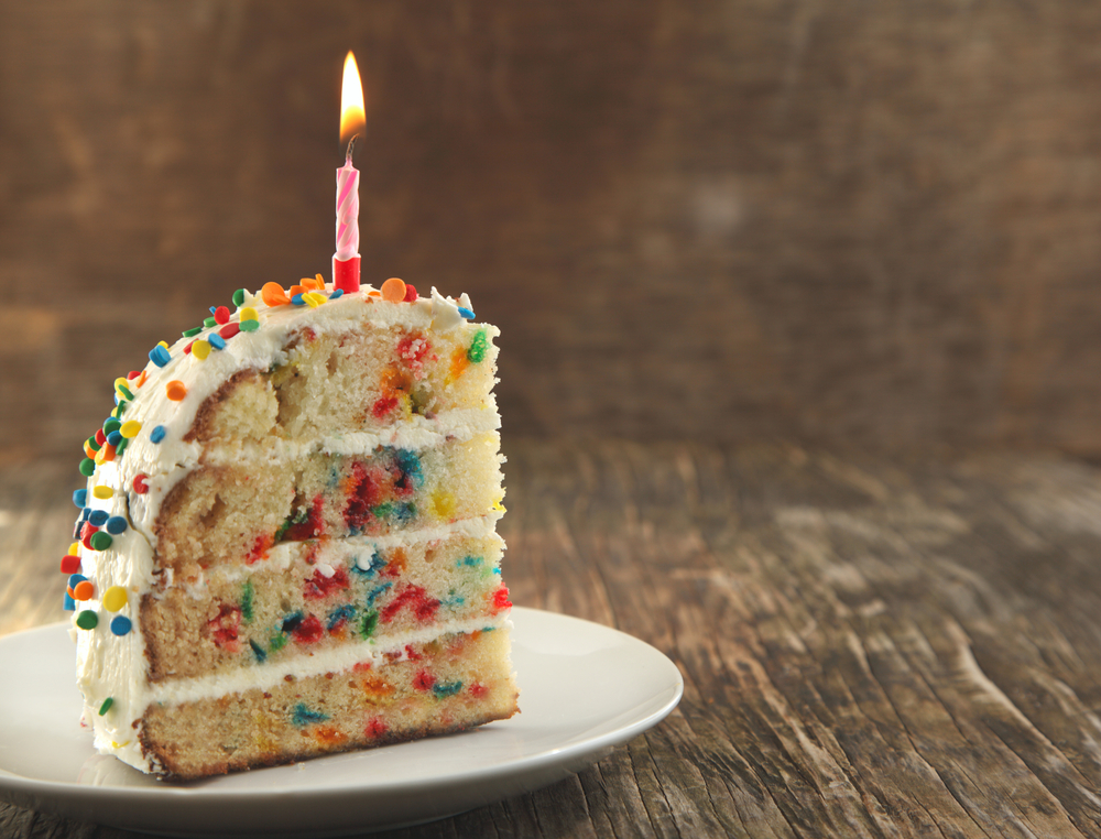 Trader Joe's just made our dreams come true with this Birthday Cake Bar