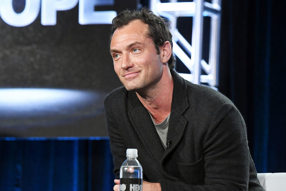 Jude Law is going to pick J.K. Rowling's brain all about Dumbledore, and we're low-key jealous