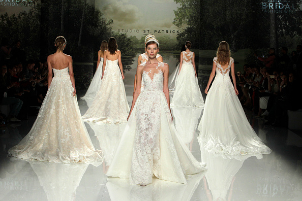 17 looks from Barcelona bridal week that have us screaming YASSSS