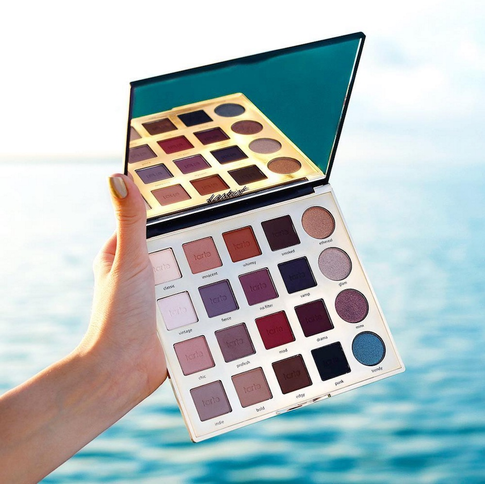Tarte Cosmetics teased a bunch of new makeup products, and we spy a new palette