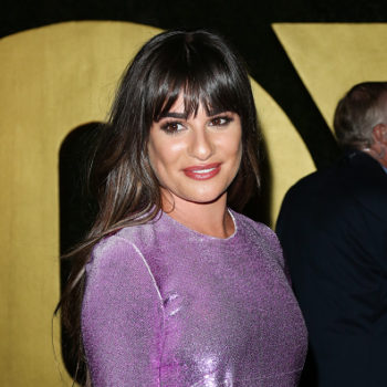 Lea Michele's bubble fishtail ponytail is the hair trend we want to try
