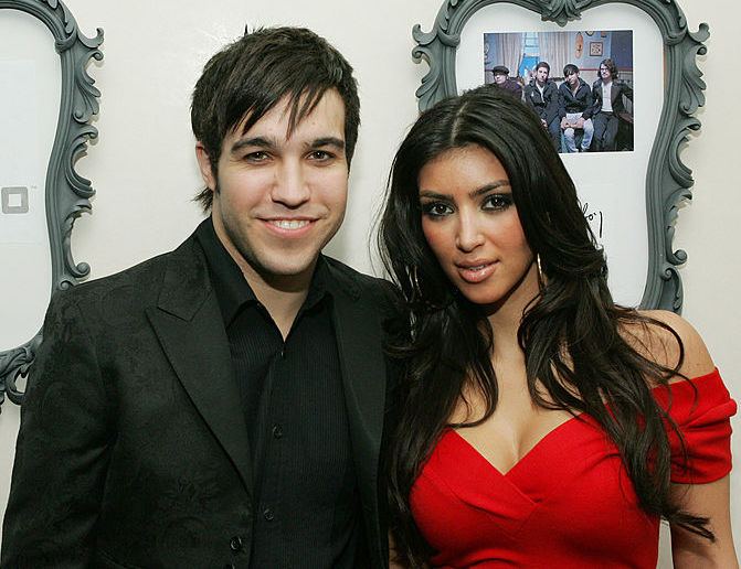 """Kim Kardashian just reminded us of the time she starred in Fall Out Boy's music video for """"Thnks fr th Mmrs"""""""