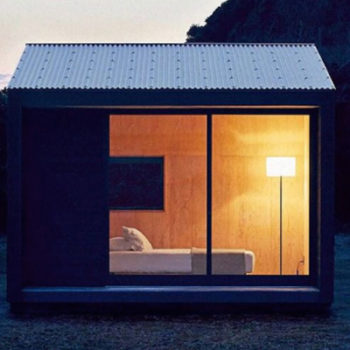 Once you see the Muji Hut, you'll want a tiny house ASAP