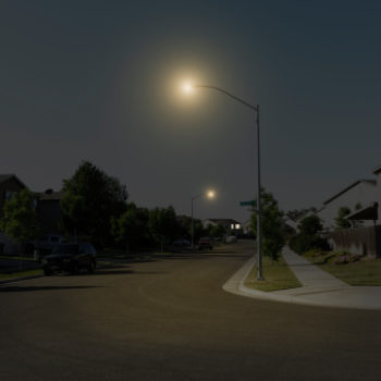 This viral photo of a lamppost is giving people the creeps