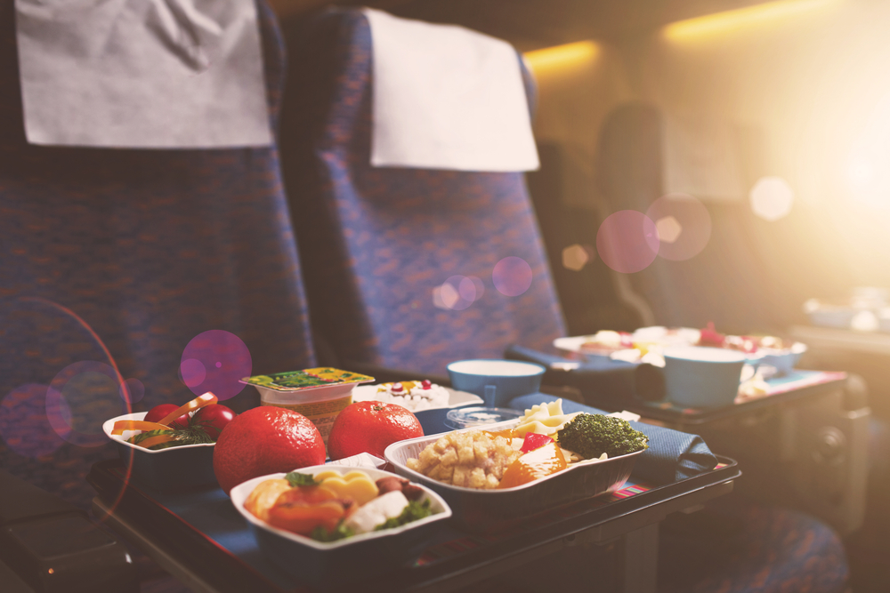 This pop-up restaurant only serves airplane food—But it's really, really good