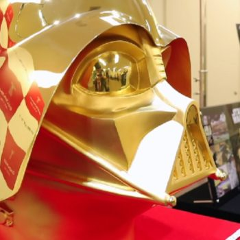 This gold Darth Vader helmet is for sale — here's how much it costs