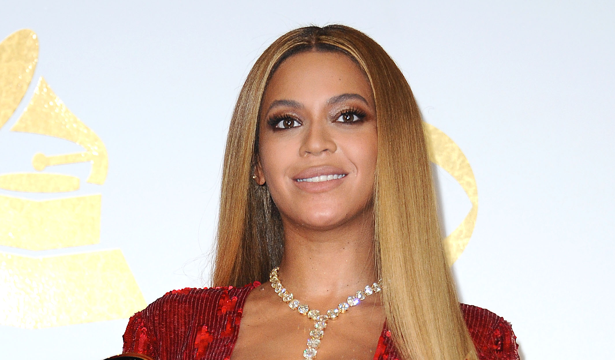 Beyoncé's rose-red maternity dress just went on sale