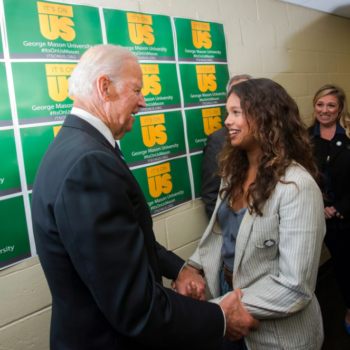 "Joe Biden and the ""13 Reasons Why"" team got together to fight against rape culture"