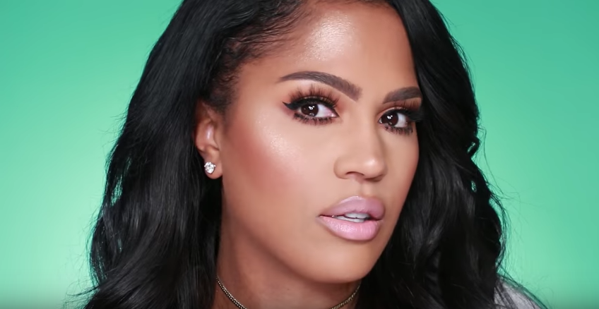 Here's what the Kim Kardashian and Kylie Cosmetics nude lipstick collection looks like on brown skin