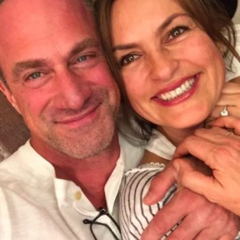"Christopher Meloni says he's ""open"" to returning to ""SVU"""