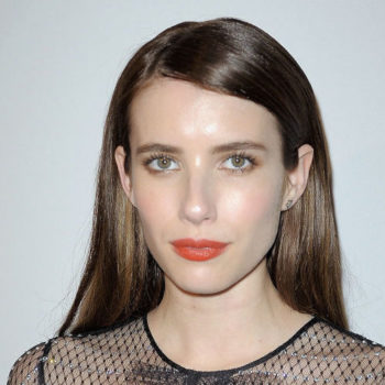 Emma Roberts made us want to buy a fishnet dress with this sparkle-covered number