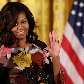 Michelle Obama addressed the rumors that she might one day run for office