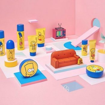 "Cowabunga: The Face Shop released a ""Simpsons""-themed beauty collection"