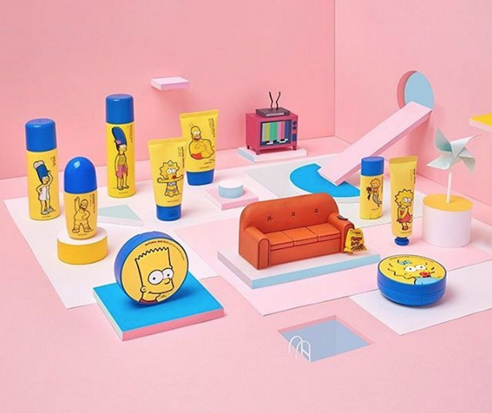 """Cowabunga: The Face Shop released a """"Simpsons""""-themed beauty collection"""