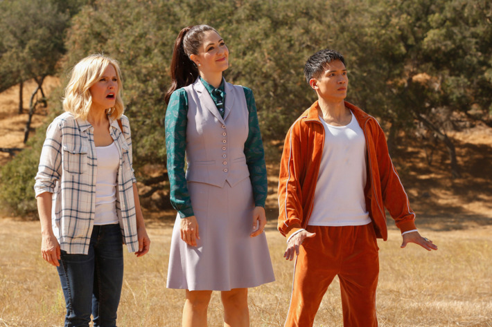 "Kristen Bell just teased a guest star for ""The Good Place,"" and it may be too cute to be real"