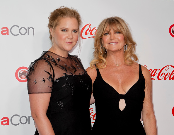 Goldie Hawn just imagined actually giving birth to Amy Schumer, and it's oddly sweet