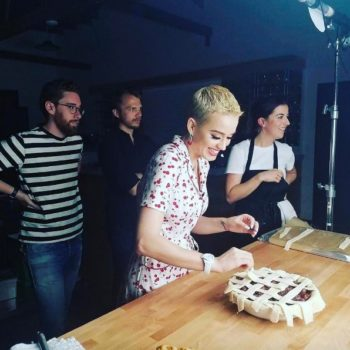 Katy Perry explained what she meant with that cherry pie recipe, and we still need to try it