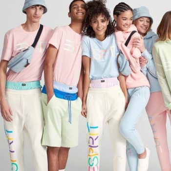 The latest Opening Ceremony x Esprit collab is giving us pastel envy