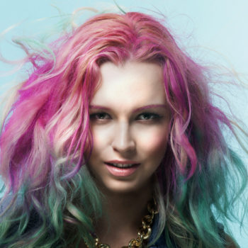 Here's how women with unicorn hair keep it magically maintained
