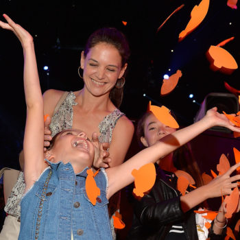 Katie Holmes just posted an adorable throwback pic of Suri, and she looks like a Beatle
